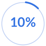 10percent transparent