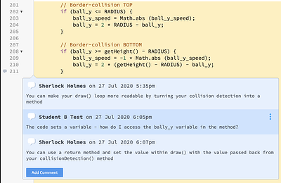 Code Commenting Blog Post