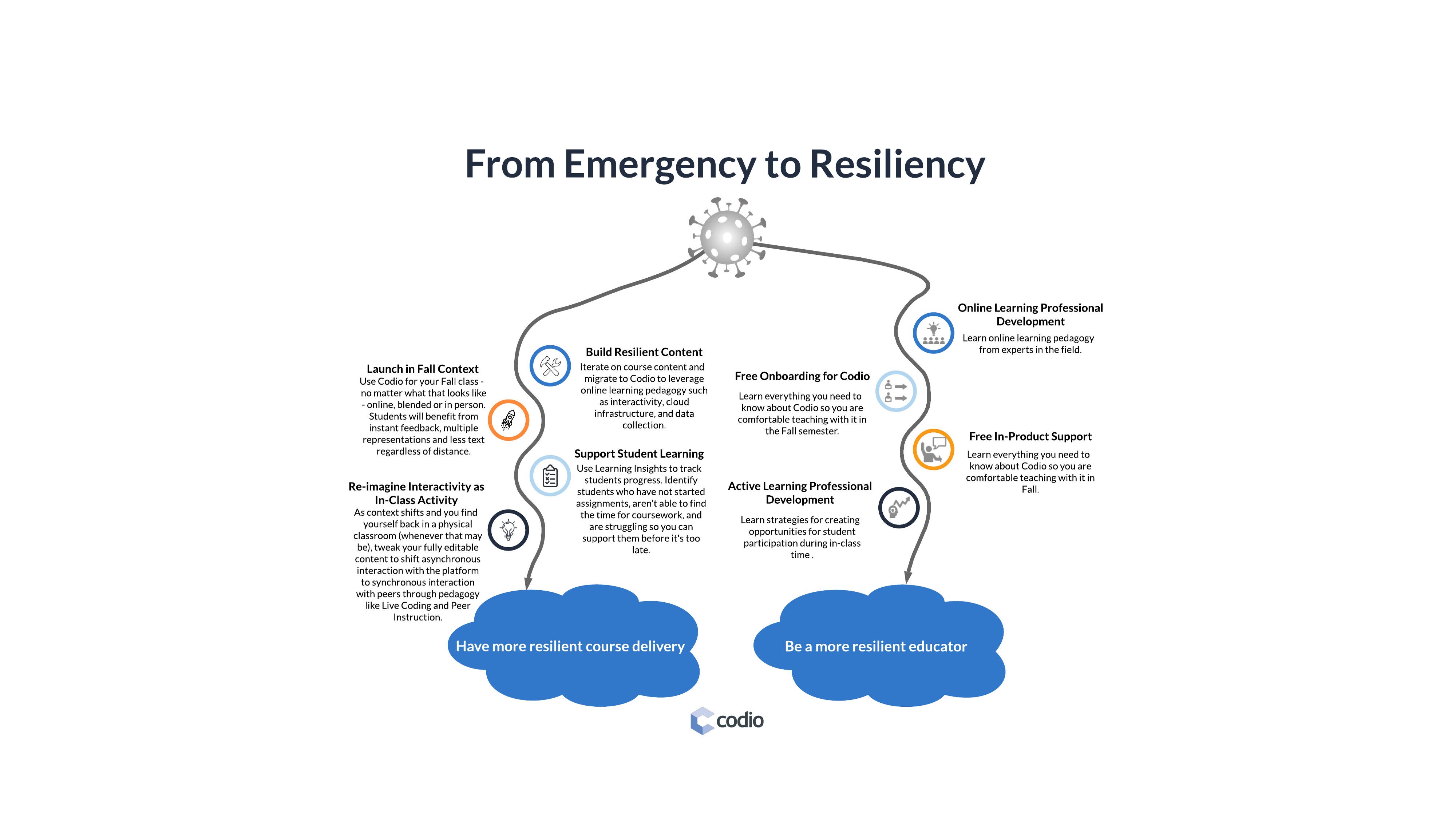 Codio Launches Resiliency in CS Education Campaign